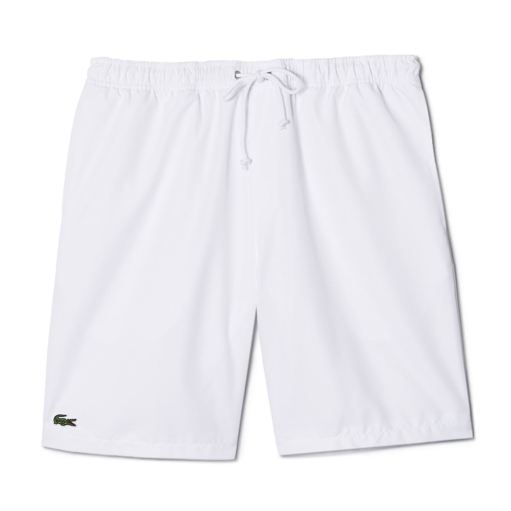 Lacoste Shorts Solid Diamond White M