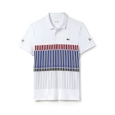 Lacoste Polo Novak Djokovic Collection - Exclusive Clay Edition White Size S S