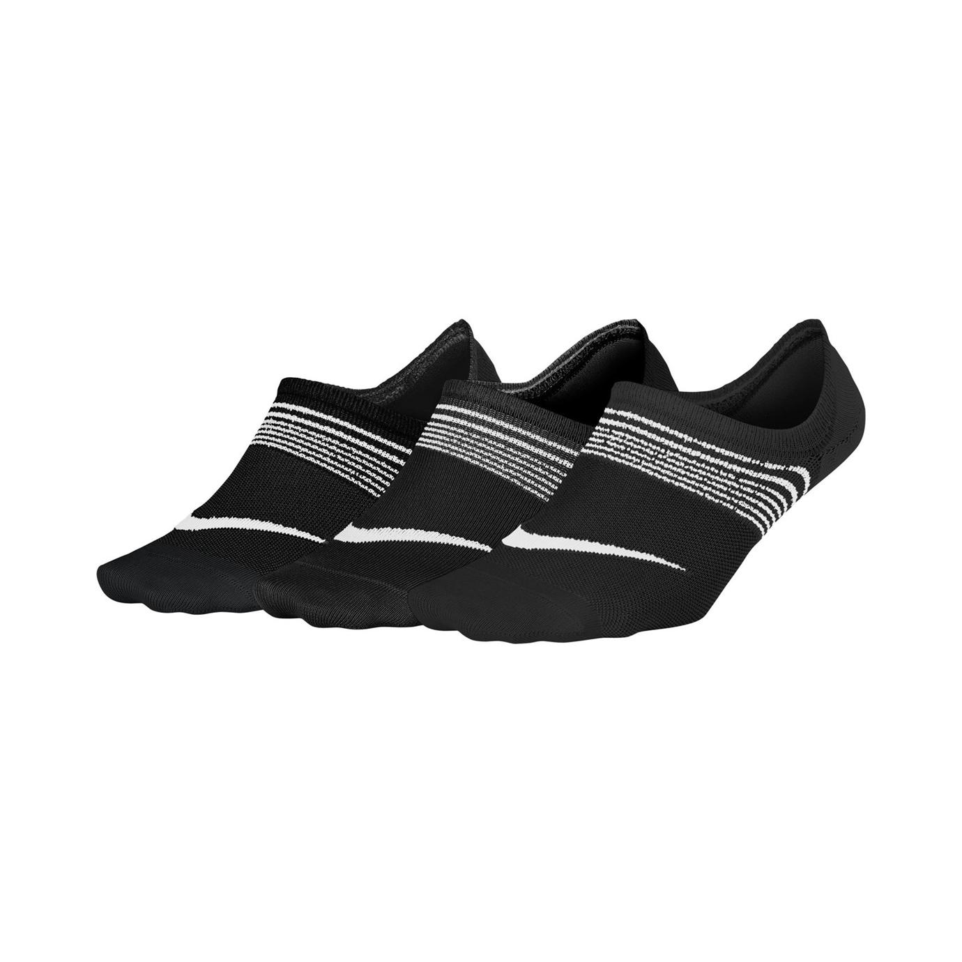 Nike Womens Everyday Plus Lightweight Training Socks 3-pack S (34-38)