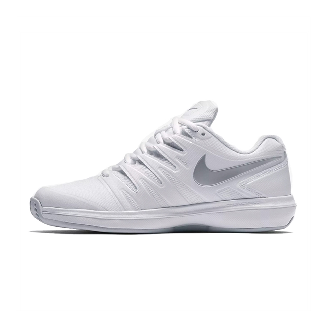 Nike Air Zoom Prestige Women White Silver Clay Padel ... fa0c5e5292f81