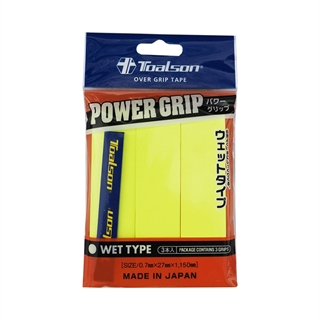 Toalson Power Grip 3-pack Yellow