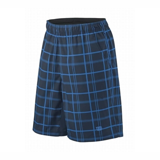 Wilson Simple Plaid 8 Shorts JR