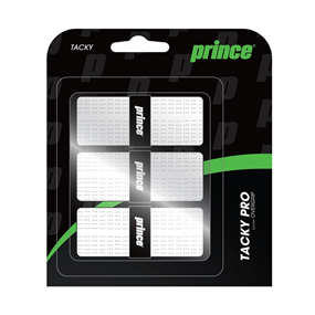 Prince Tacky Pro Overgrip 3-Pack White