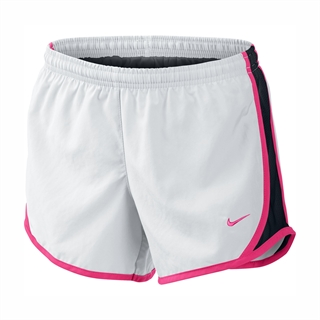 Nike Tempo Shorts JR White/Pink
