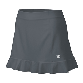 Wilson Star Ruffle Stretch 12.5 Inch Skirt Dark Grey