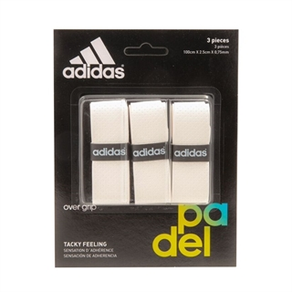 Adidas Overgrip White 3-pack
