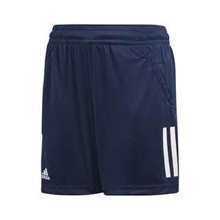 Adidas Club 3 Stripes Shorts Boys Navy