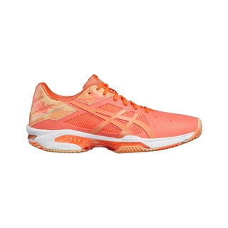 watch 8de6c ff917 Asics Gel-Solution Speed 3 Clay padel Flash Coral Women L.E.
