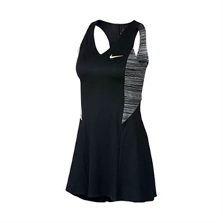Nike Court Dri-Fit Sharapova Dress Black/Wolf Grey