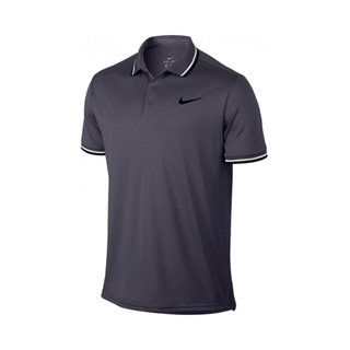 Nike Dry Solid Polo Grey
