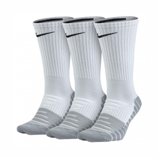 Nike Dry Cushion Crew White 3-pack