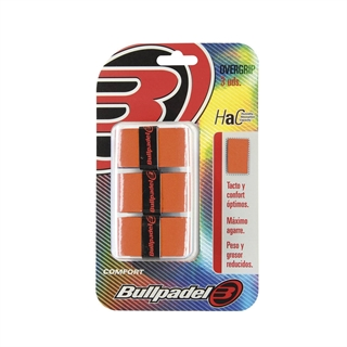 Bullpadel Pro Overgrip Orange Comfort