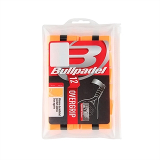 Bullpadel Pro Overgrip X 12 Orange