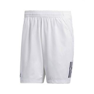 Adidas Club 3 Stripes Short Boy White