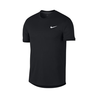 Nike Court Dry SS Top All Black