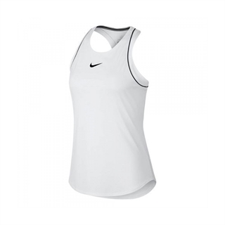 Nike Court Dri-Fit Tank White