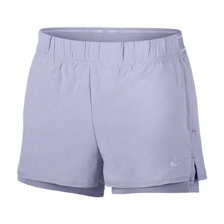 Nike Court Flex Shorts Women Oxygen Purple