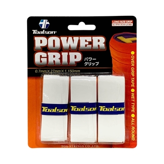 Toalson Power Grip 3-pack White