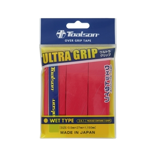 Toalson Toalson Ultra Grip 3-pack Red