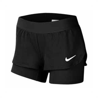 Nike Court Flex Shorts Girls Black