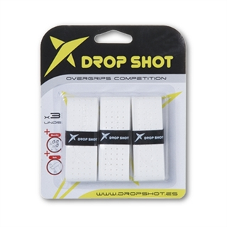 Drop Shot Pro Overgrip White