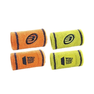 Bullpadel WPT Wristband Yellow/Orange 2021