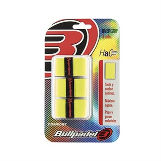Bullpadel Pro Overgrip Neon Yellow Thin