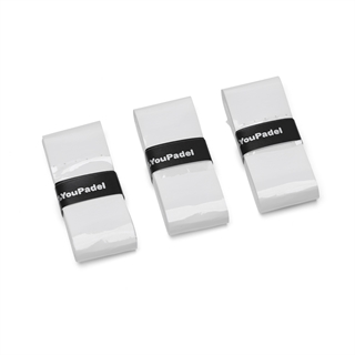 YouPadel Overgrip White 3-pack