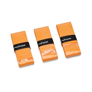 YouPadel Overgrip Orange 3-pack