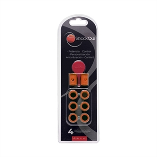 ShockOut Padel Dampeners Orange